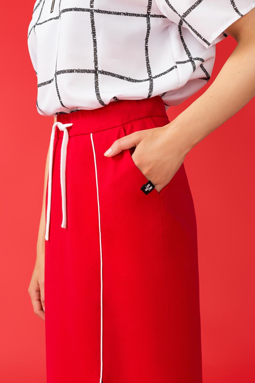 Купить Красная спортивная юбка, Urbantiger