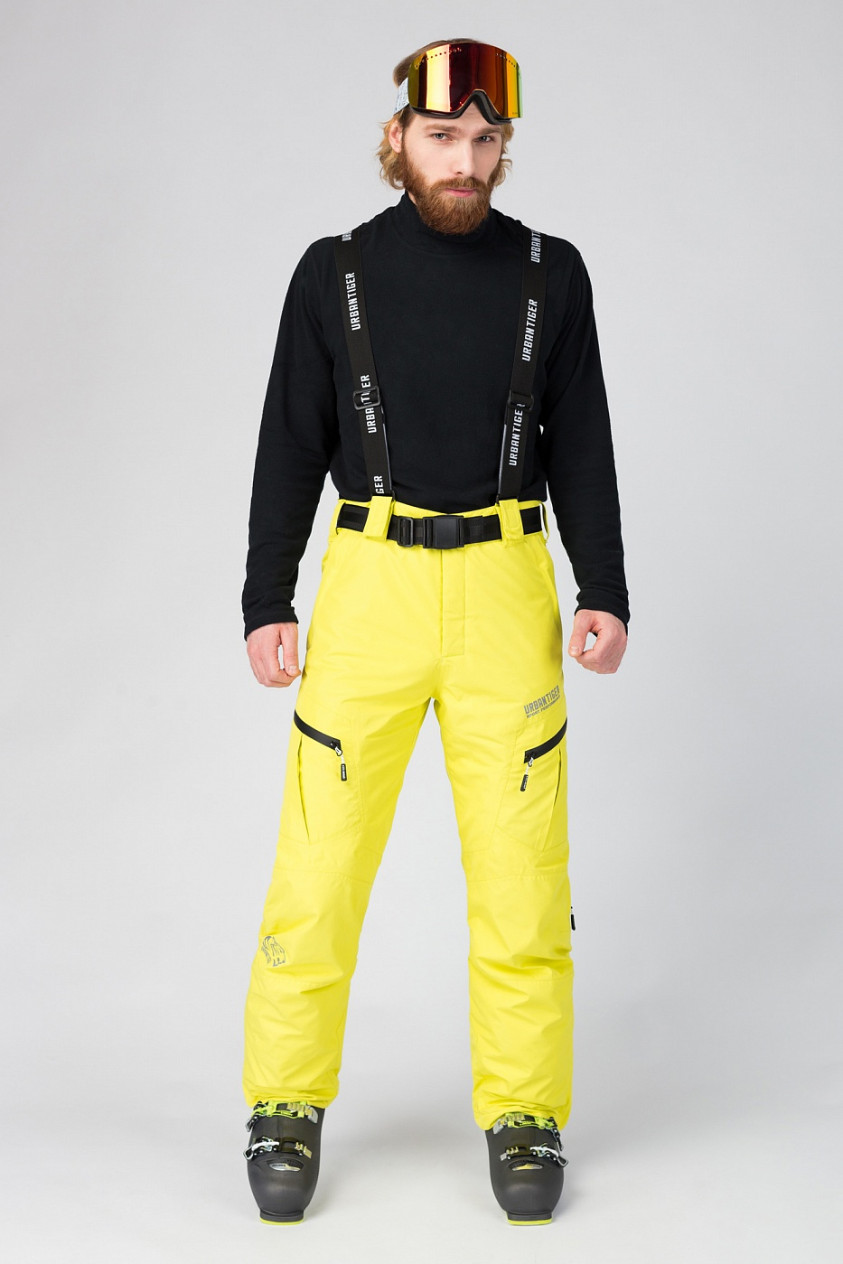Купить Горнолыжные брюки желтые, Urbantiger