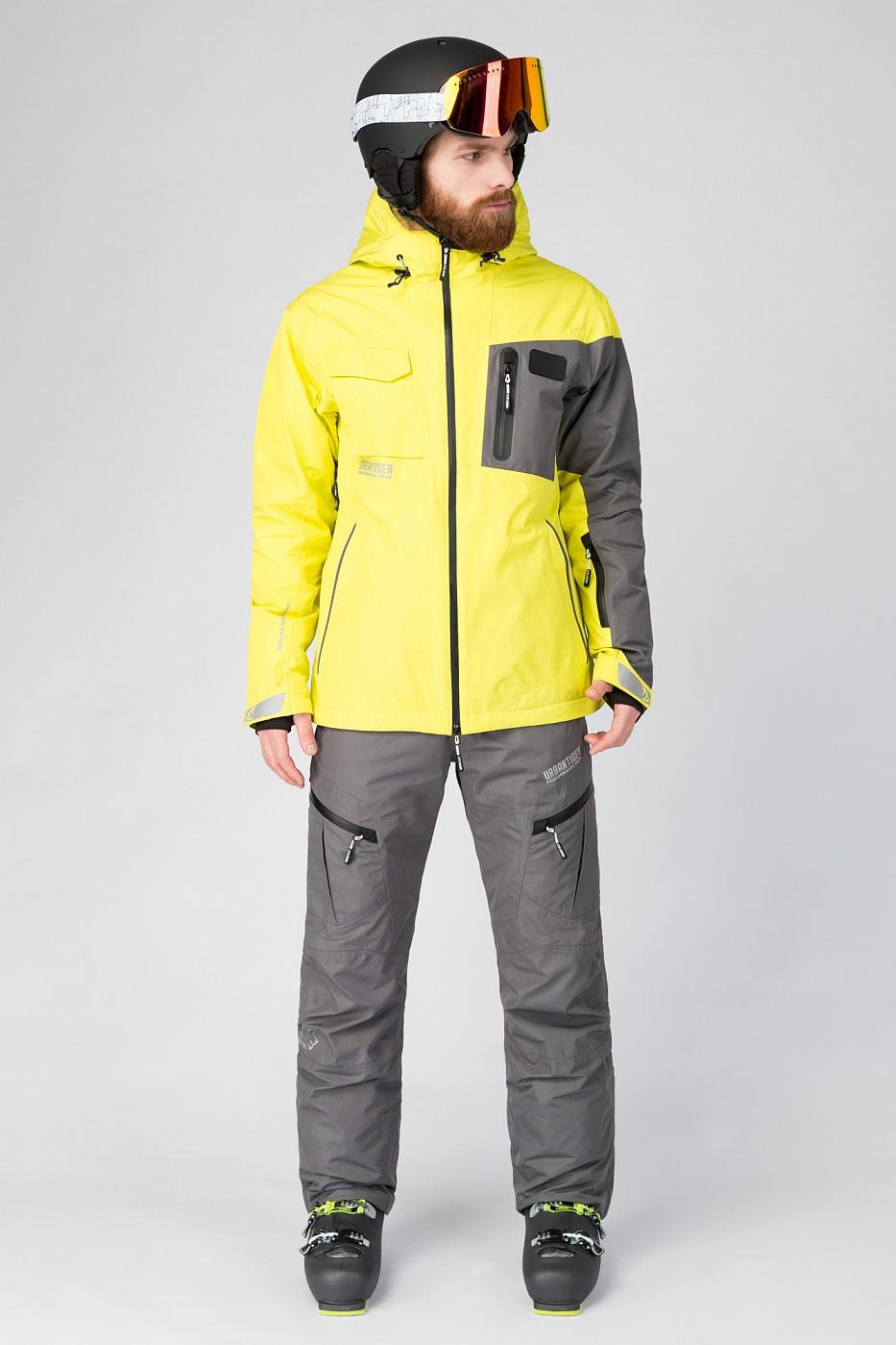 Купить Горнолыжная куртка желтая, Urbantiger