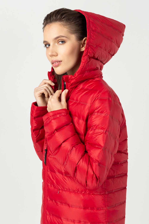 Купить Красное стеганое пальто, Urbantiger