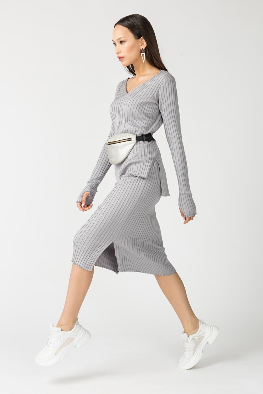 Купить Трикотажная юбка в рубчик, Urbantiger