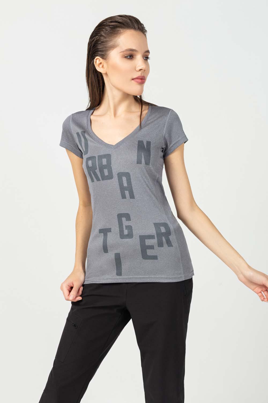 Купить Серая футболка с буквами, Urbantiger