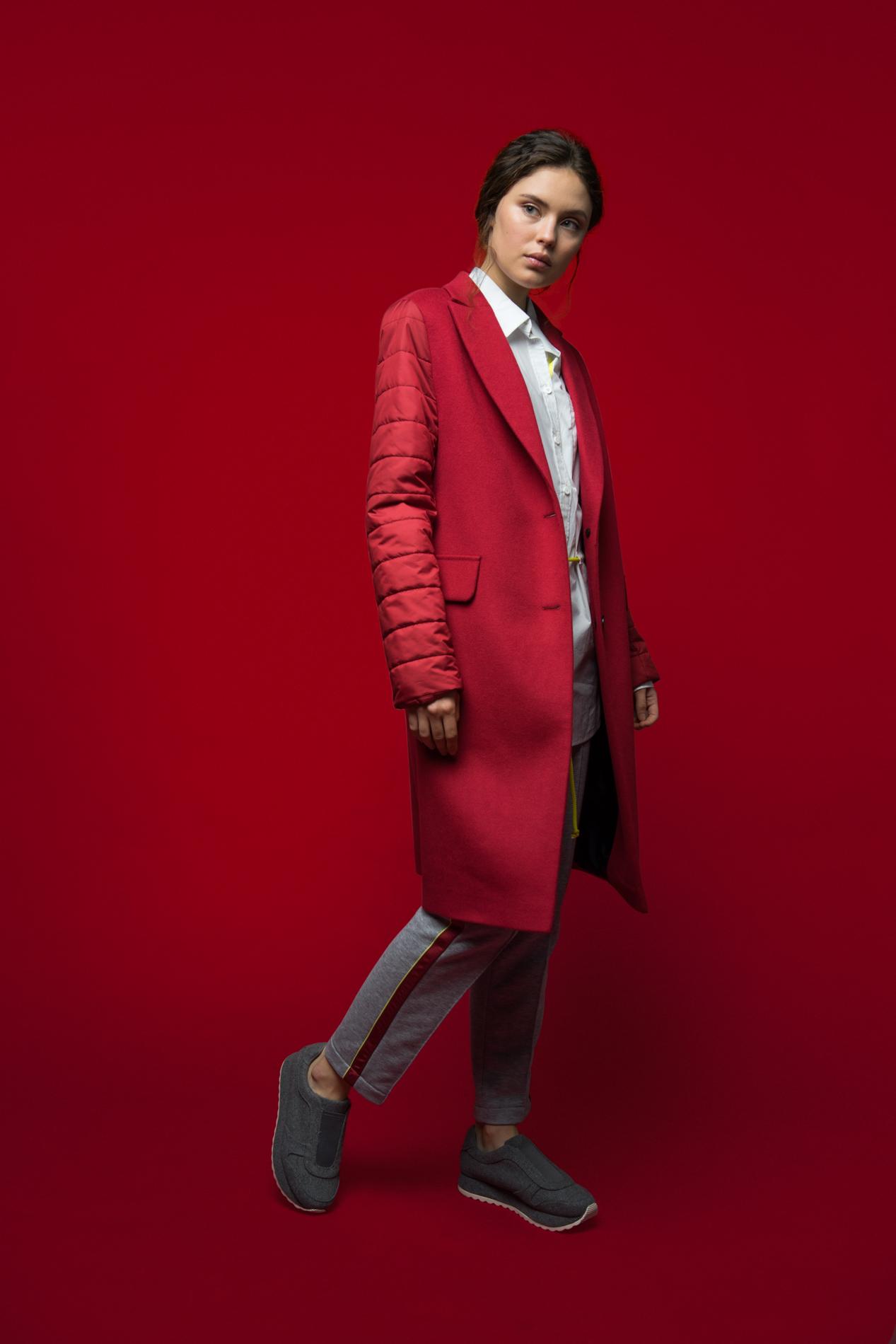 Купить Пальто со стеганными рукавами, Urbantiger