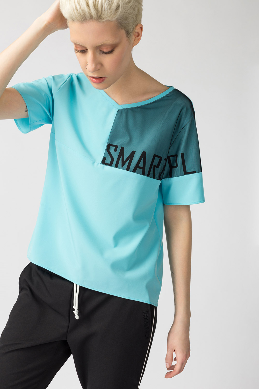 Блуза в спортивном стиле от Urbantiger