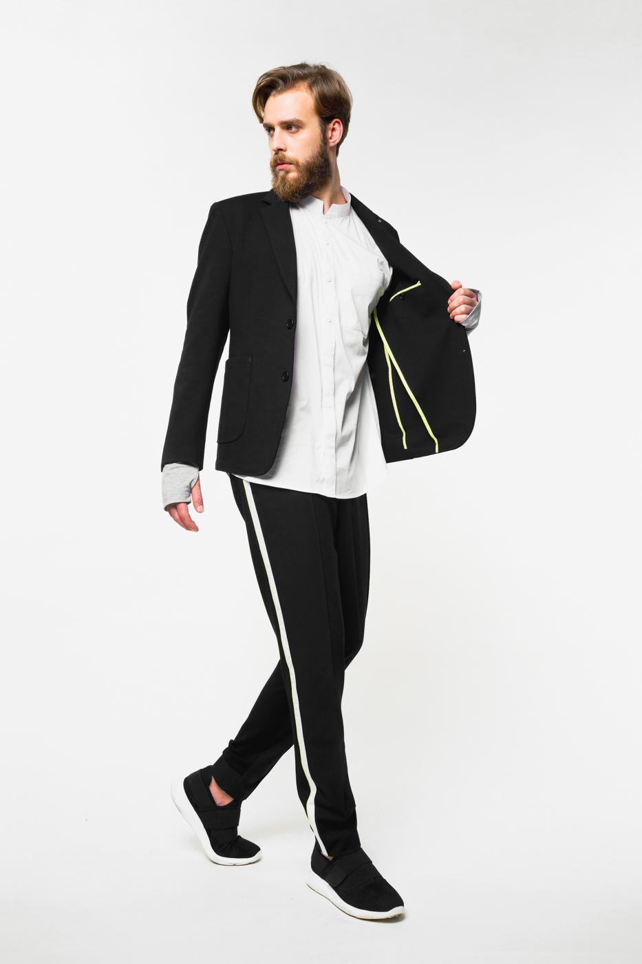 Трикотажный пиджак от Urbantiger