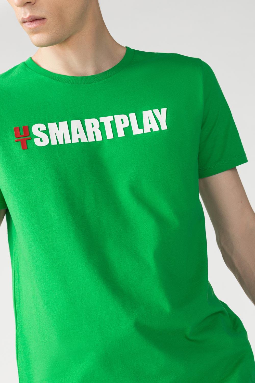 Купить Футболка с принтом Smart play, Urbantiger