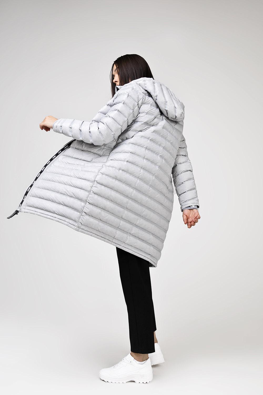 Купить Серое пуховое пальто, Urbantiger